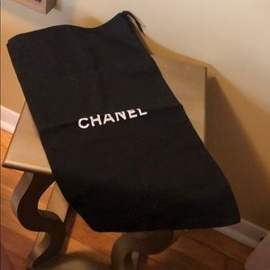 CHANEL Boot Dust Bag